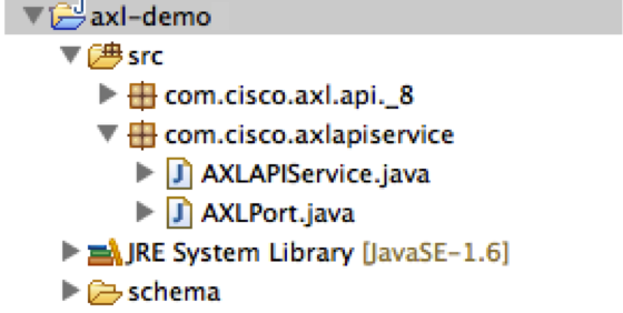 Java/JAX-WS Quickstart - AXL - Document - Cisco DevNet