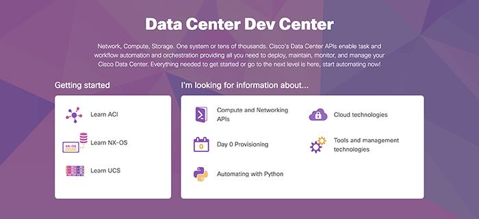 Cisco DevNet: APIs, SDKs, Sandbox, and Community for Cisco