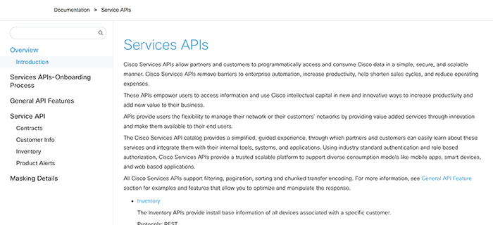 Cisco DevNet: APIs, SDKs, Sandbox, and Community for Cisco