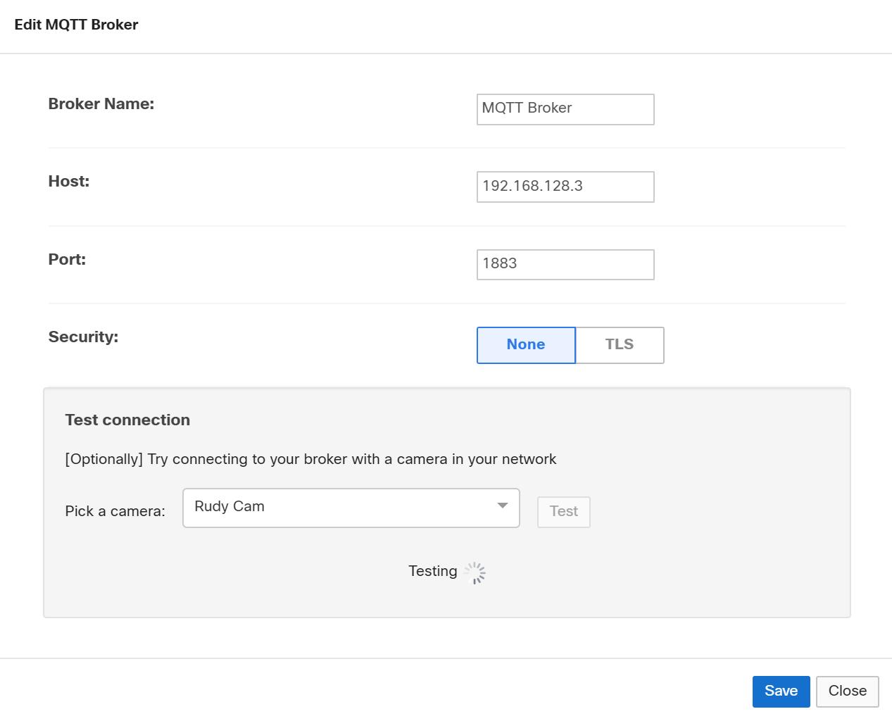 MQTT - Meraki MV Sense - Document - Cisco DevNet