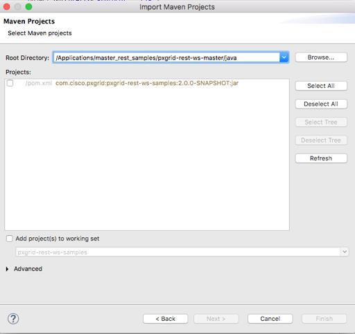 Download Sample Java Code - pxGrid API - Document - Cisco DevNet