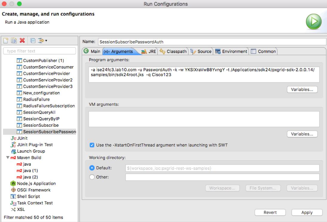Using Pre-Shared Keys - pxGrid API - Document - Cisco DevNet