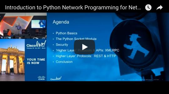 Videos - Cisco DevNet